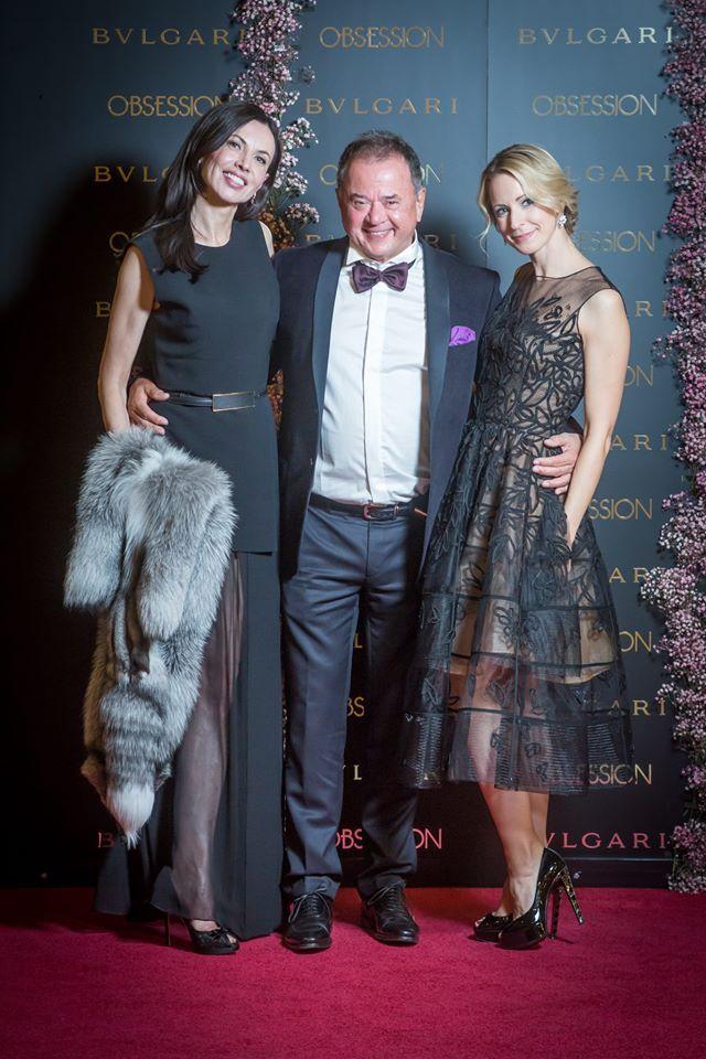 S manželem a Silviou Patrovou