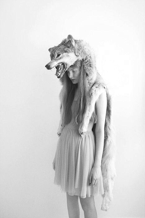 #spirithoods #inneranimal  I am a Wolf Girl.