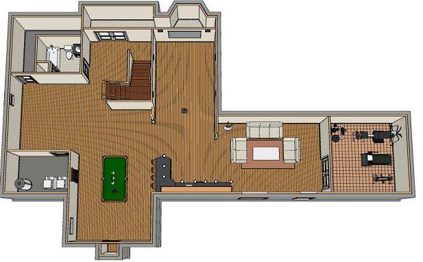 38 best ccff walls ceilings images on pinterest for Basement remodeling software