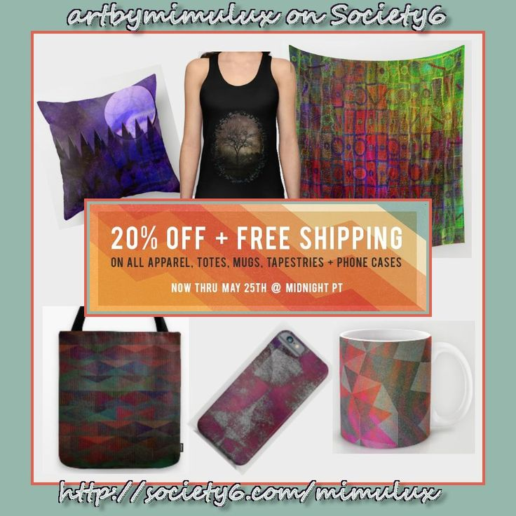 Check out these Special Offers in my Society6 Shop !