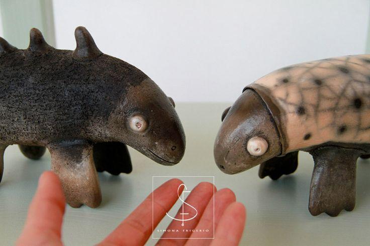 Strange Animals Simona Frigerio   www.etsy.com/it/shop/SIMONAFRIGERIOart