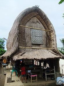 triditional Sasak rice barn in the village of Sade, Lombok