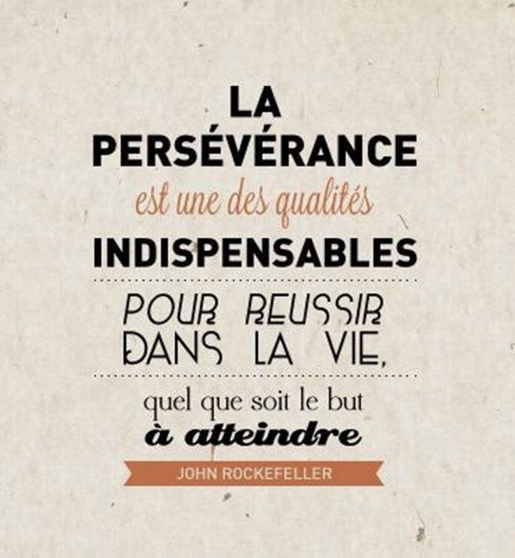 mantra persévérance