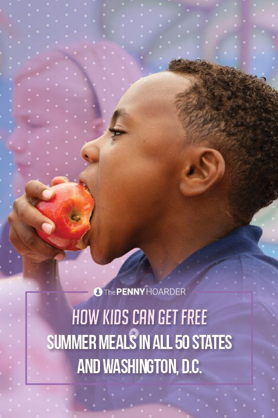 The summer food service program makes sure that low-income children still have access to nutritious food over the summer.  Here's how.