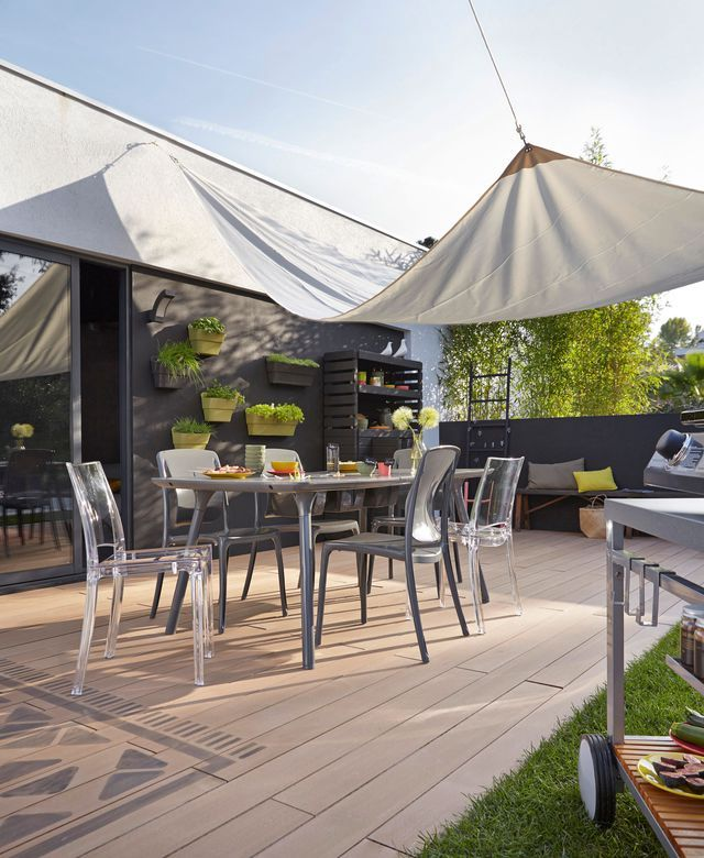 18 best Terrasse images on Pinterest Backyard patio, Balconies and