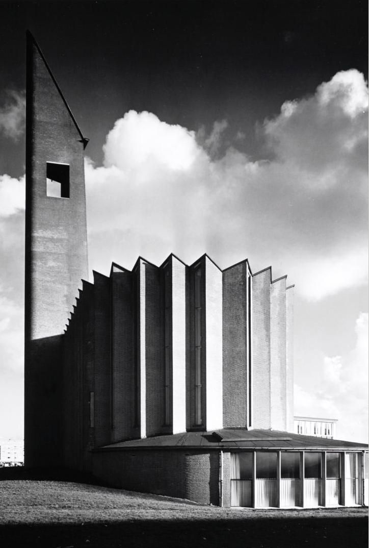 De Nederlands-hervormde Opstandingskerk (Kolenkit)  - M.F Duintjer - 1957.