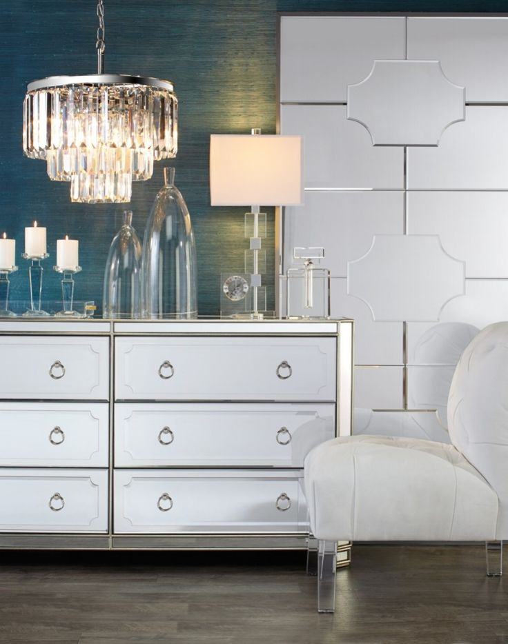 mirrored furniture room ideas. mirrored luxe furniture room ideas n