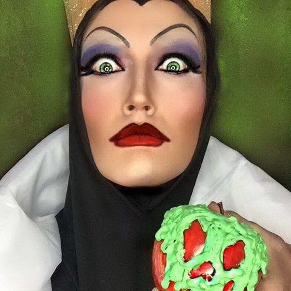 Ребекка Свифт делает потрясающий макияж в стиле популярных персонажей (22 фото)