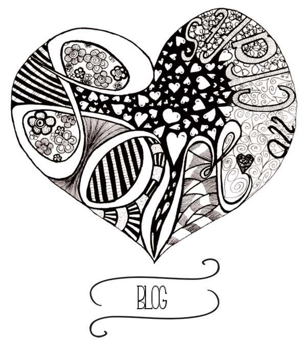 Love all crafts-Zentangle-hart www.loveallcrafts.nl