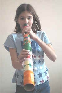 Learn about Australian and make a Didgeridoo Craft