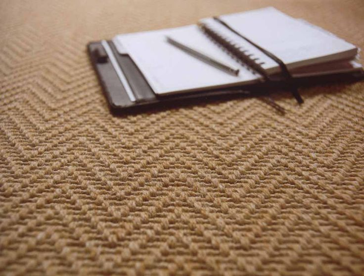 Herringbone coir carpet x