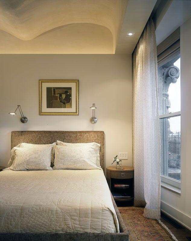 Modern Bedroom Interior Lights Above Bed Bedroom Reading Lights