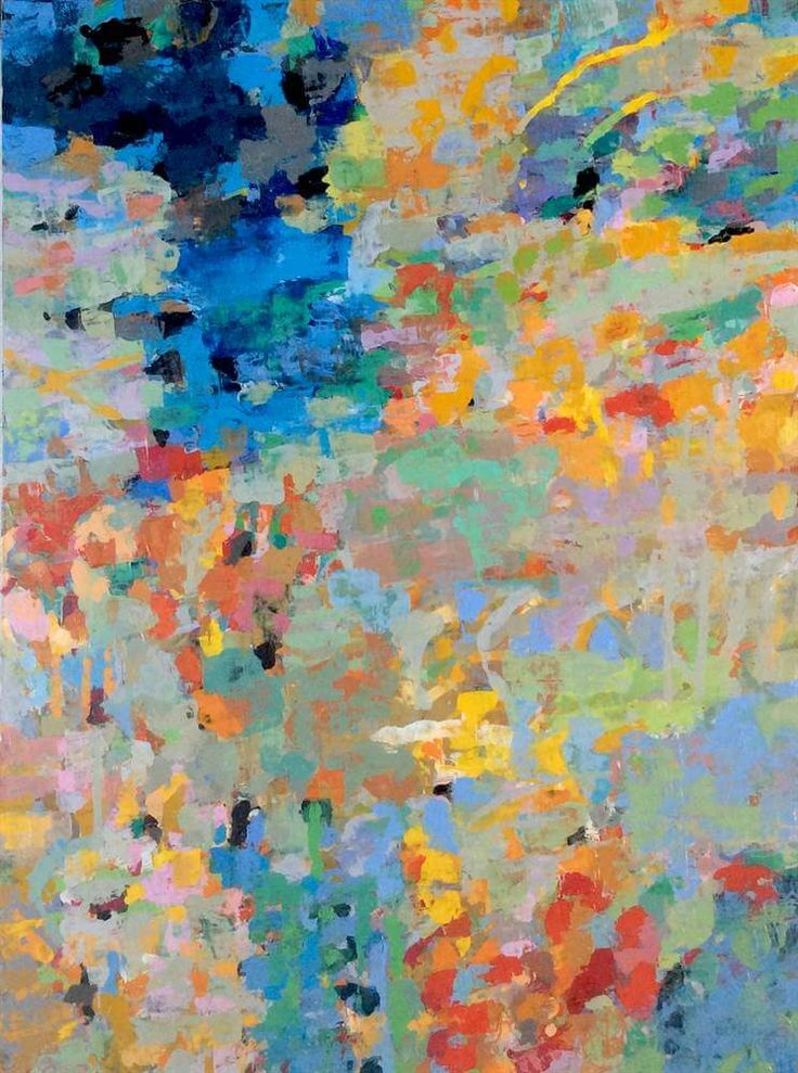 LAPLANCHE Abst #101 - 2016 Peinture à l'huile sur toile 130 x 97 cm  Oeuvre signée - Certificat d'authenticité   Prix: 3,600 €