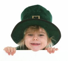 Evil leprechaun or misunderstood cheeky chappie in a big hat? You decide.