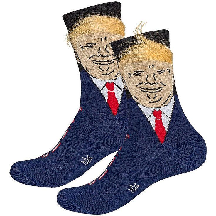 Donald Trump Hair Socks Unisex-Crew-Socke   – Teen Easter basket