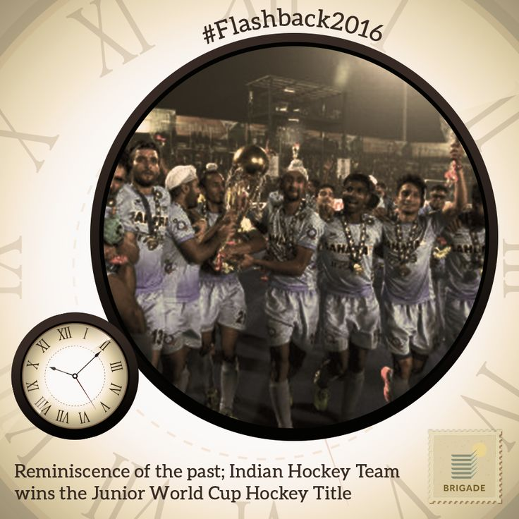 In an exemplary exhibition of display, the Indian #Hockey team won the Men's Junior #WorldCup title after a gap of 15 years.