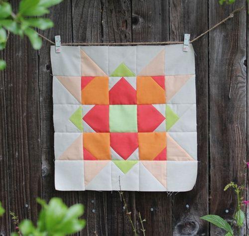 Fresh Flower Quilt Block