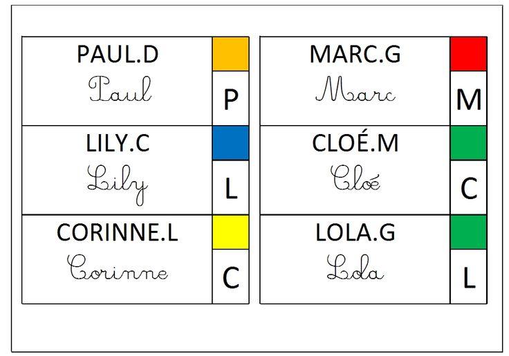 Générer automatiquement toutes vos étiquettes des présents à partir d'une simple liste d'élèves.