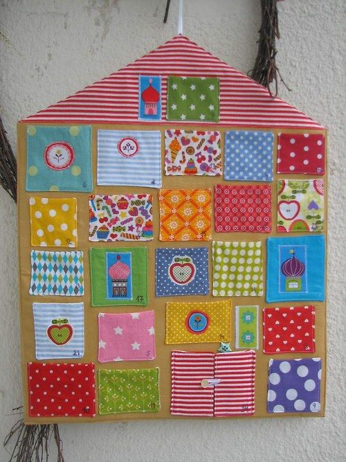 Adventní kalendář - veselé barvičky