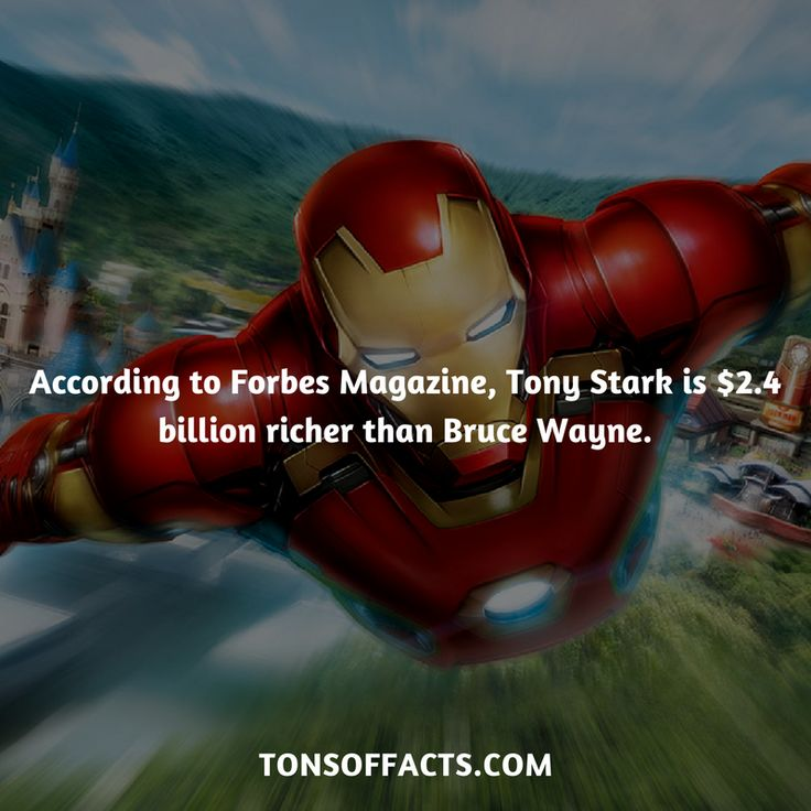 Or was the magazine paid by Tony Stark to say that???? Hmmm????