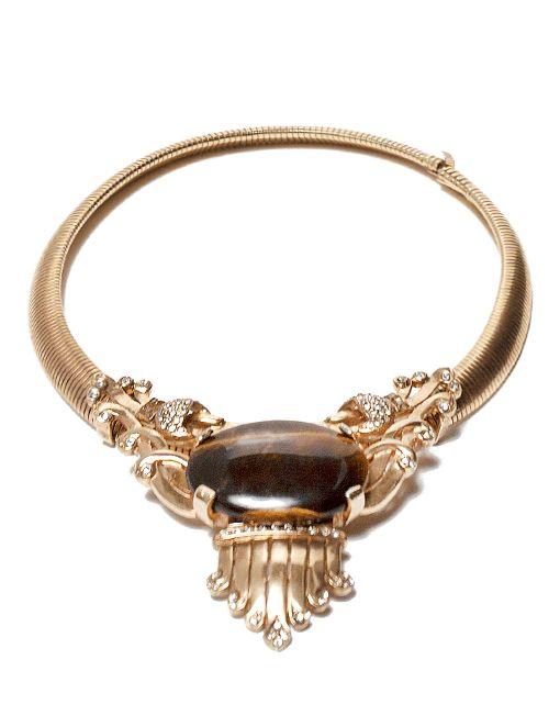 Omega Tiger's Eye Necklace
