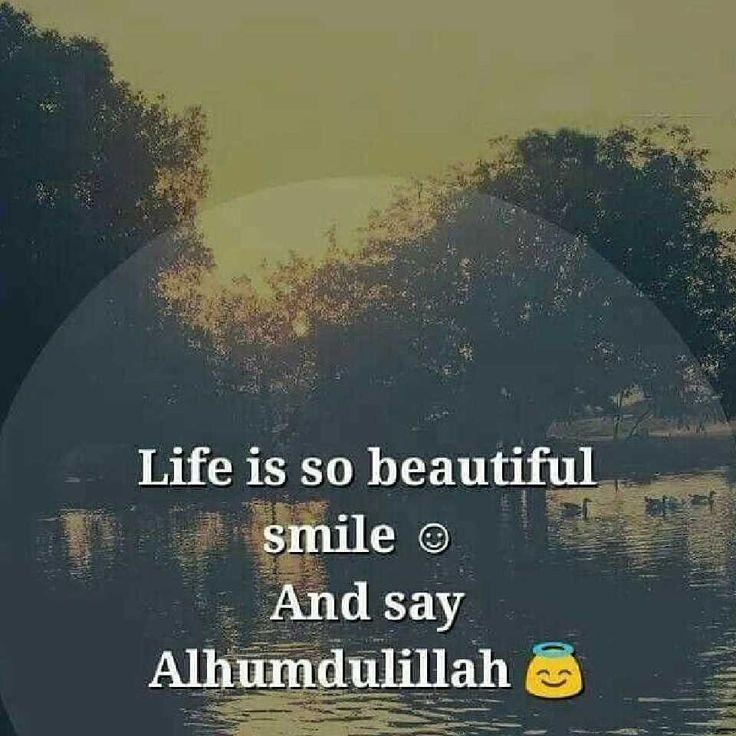 so always smile...