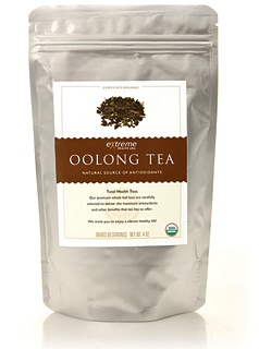 Organic Oolong Tea - Oolong is a traditional Chinese tea somewhere between green and black in oxidation. It brings all the benefits of Green Tea with high concentrations of antioxidants and beneficial polyphenols, and is believed to support the body's natural process to burn fat and support weight loss.