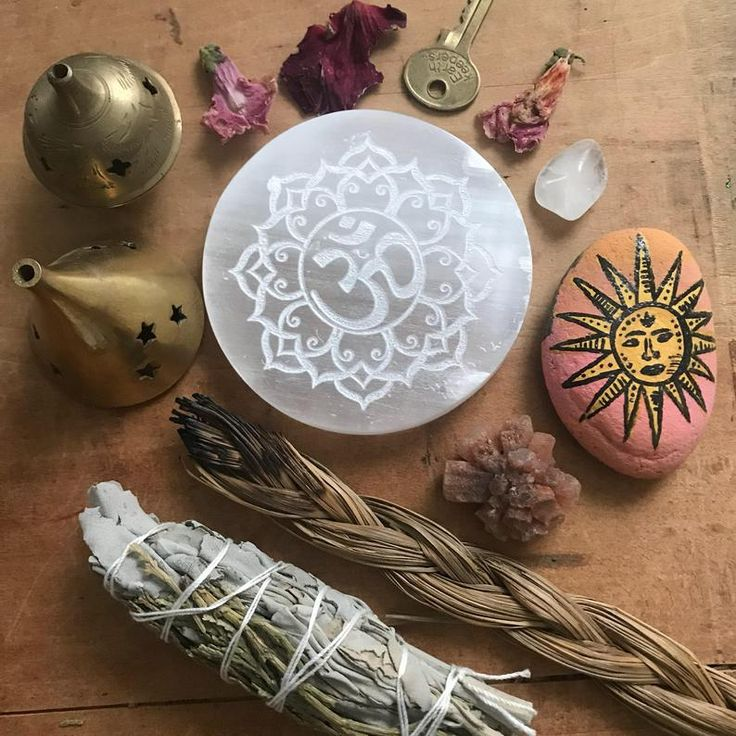 how to charge crystals with incense