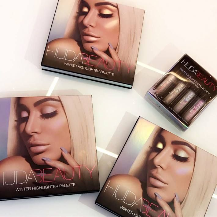 Huda Beauty Winter Solstice Collection 2017 via @Chicprofile