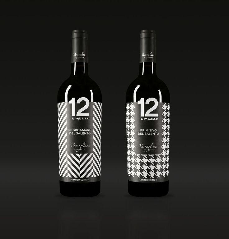Etichette Limited Edition Una linea di etichette dedicate alla collezione di vini Limited Edition di Varvaglione.  more on www.idemdesign.it #graphic #wine #design #style