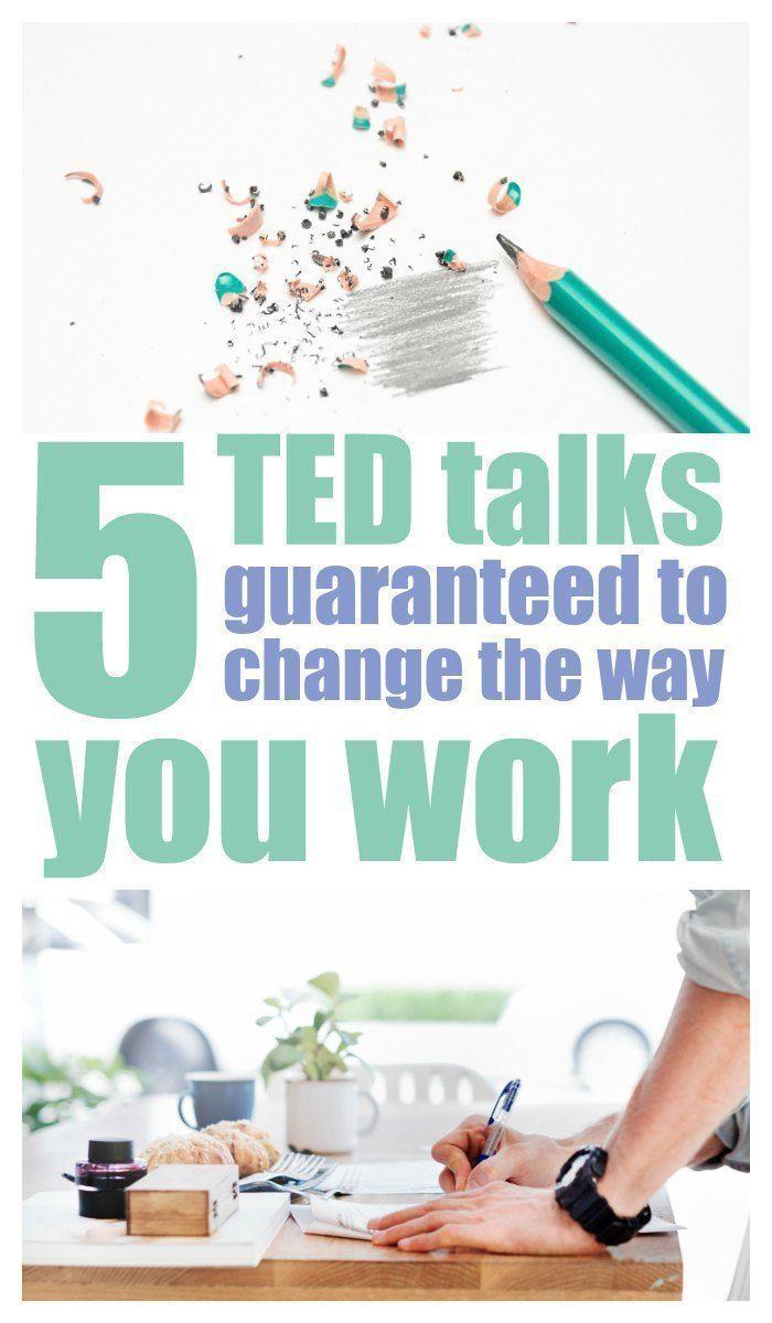 5 TED spricht zur Steigerung Ihrer Produktivität …