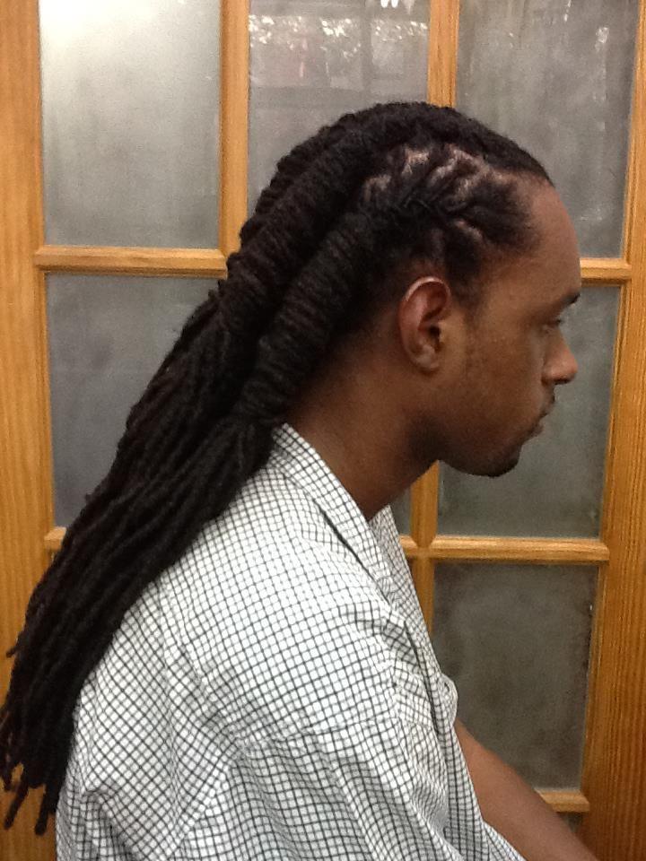 dreadlocks hairstyle man (19) | dope men loc styles | pinterest