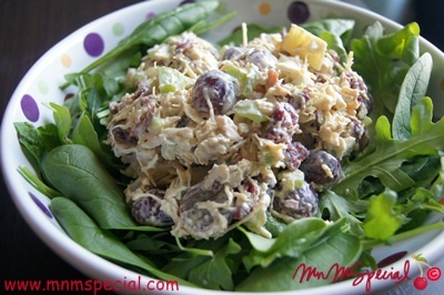 Chicken Waldorf salad - Regular | Recipes for the week | Pinterest