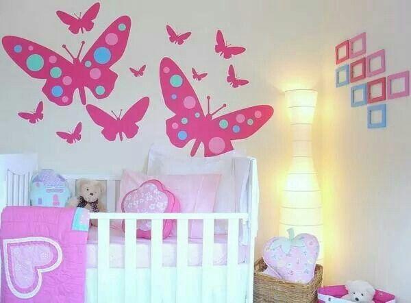 Baby Girl Butterfly Bedroom Ideas 27 best mural images on pinterest   murals, butterfly and bedroom