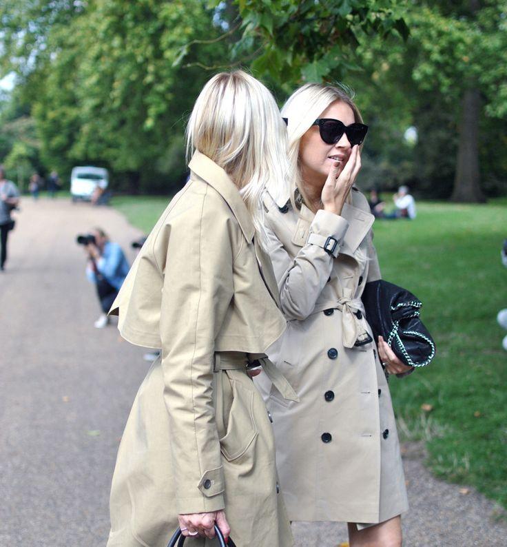 Photo by ediot Silje Pedersen MoteSilje Celine Aagaard Hippie hippie milkshake streetstyle london fw london fashion week