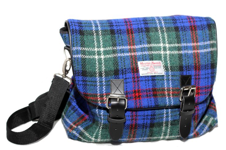 What do you make of our authentic #Harris Tweed #laptop #bag?