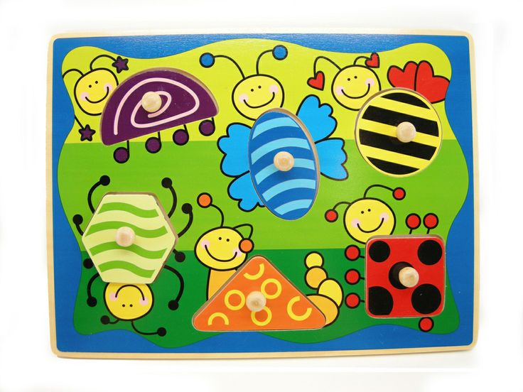 Educational / Fun / Old Fashioned Wooden Toys -Machiko - a boutique for kids - Wooden Insect Puzzle, $5.95 (http://www.machikobaby.com.au/products/wooden-insect-puzzle.html)