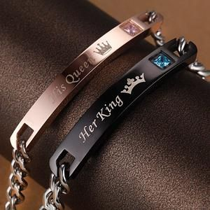 Celebrate Love, King&Queen Bracelet