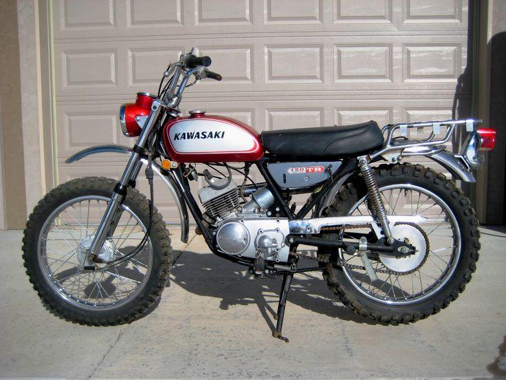 Vintage Kawasaki Motorcycle 91