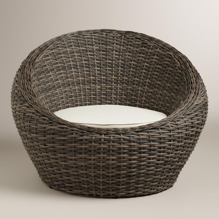 Exceptional All Weather Wicker Formentera Egg Outdoor Chair