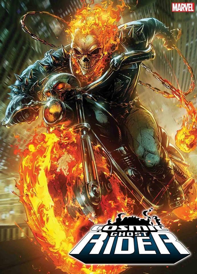 Ghost Rider Skeleton Bike Giant Poster Art Print Black /& White in Card or Canvas