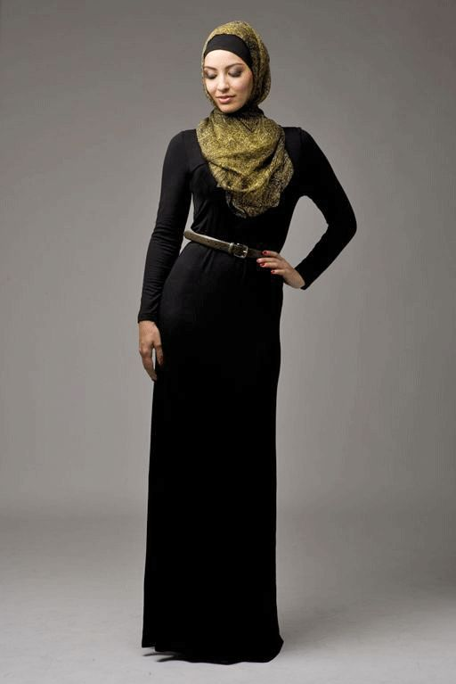 Black Jersey Abaya - HIJAB HOUSE ONLINE Pty Ltd