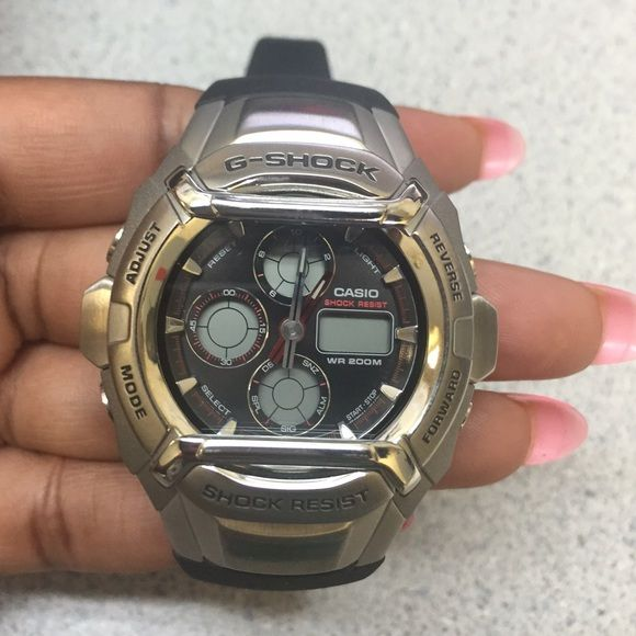 G-Shock watch NEVER WORN G shock Shock Resist Watch. Brand New Condition, kept in box. Just needs new battery! G-Shock Accessories Watches
