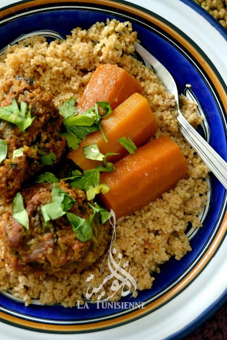 Les 47 meilleures images du tableau couscous sur pinterest nourriture tunisienne recettes - Recette cuisine couscous tunisien ...