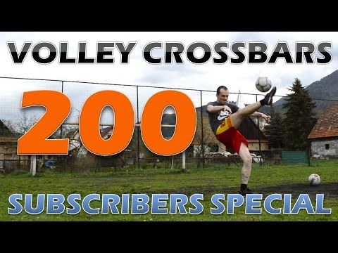 I celebrate 200 subscribers of this channel, thank you for your support! This is a little gift for you - best of my crossbar challenge volleys in 2016. Hope you like this video, don´t forget to share your opinion through thumbs or comments. If you are a new visitor, you´ll make my day when you subscribe or watch other great videos from this channel. I also sub back everybody who asks for that in comments and at the same time uploads football videos or crossbar challenge. Same for exchanging…