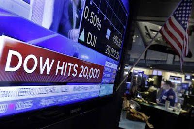 Dow Jones Industrial Average Hits 20k!