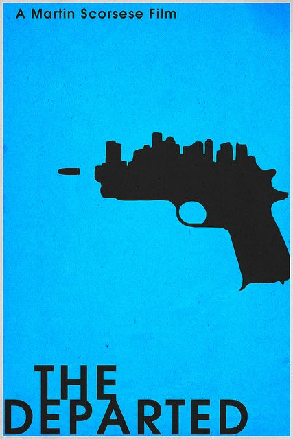 The Departed (2006) ~ Minimal Movie Poster by Christian Frarey
