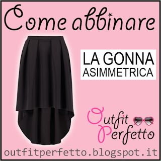 Come abbinare una GONNA ASIMMETRICA (outfit Autunno/Inverno)