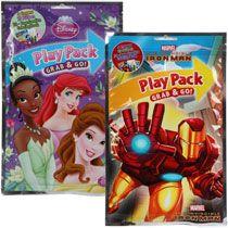 Bulk Licensed Character Grab-N-Go Play Packs at DollarTree.com