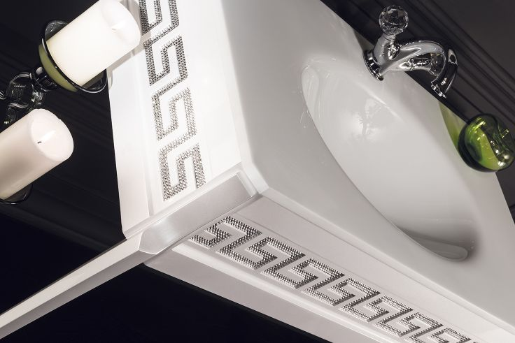 Topex Armadi Art Diamond Vanity. Made With Swarovski Crystals From Our Avantgarde Collection!